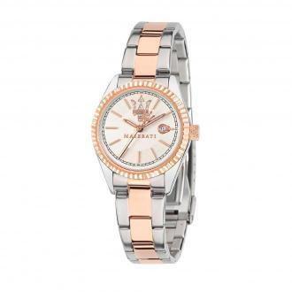 Zegarek MASERATI - Competizione R8853100504 Silver/Pink
