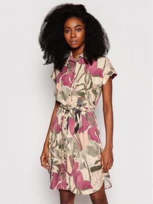 Desigual Sukienka koszulowa Etnican 21SWVN04 Kolorowy Regular Fit