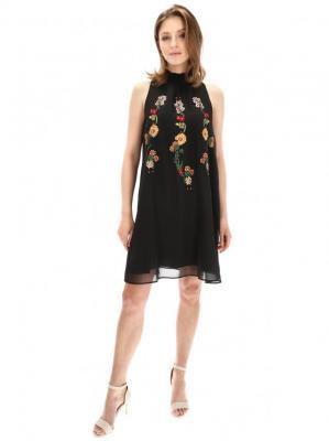 Sukienka z marszczeniem przy szyi Desigual ANGY