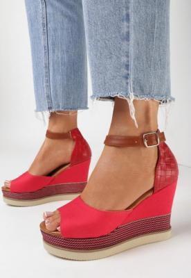 Czerwone Sandały Rhethixie
