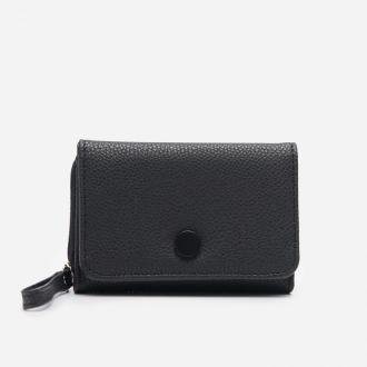 House - Czarny portfel z imitacji skóry - Czarny