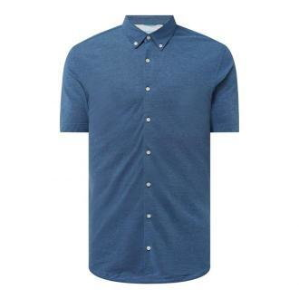 Koszula biznesowa o kroju slim fit z piki — 'Futureflex'