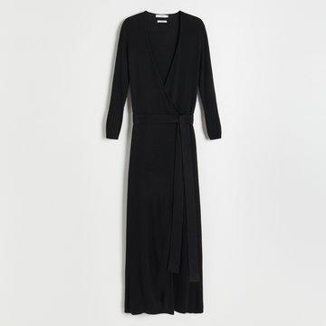 Reserved - Sukienka midi - Czarny