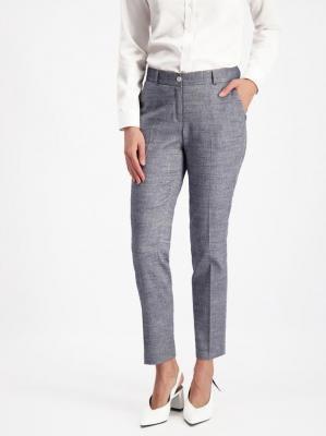 Szare eleganckie spodnie Lavard Woman 84954