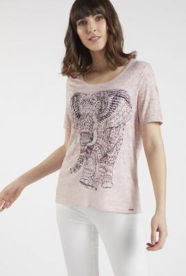 T-shirt z nadrukiem słonia