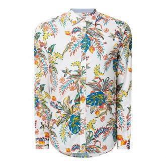 Koszula casualowa o kroju slim fit z bawełny model 'Gesin'