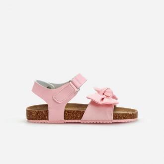 Reserved - Sandały z kokardką - Różowy