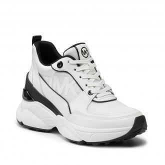 Sneakersy MICHAEL MICHAEL KORS - Mickey Trainer 43T1MKFS2D  Optic White/Blk