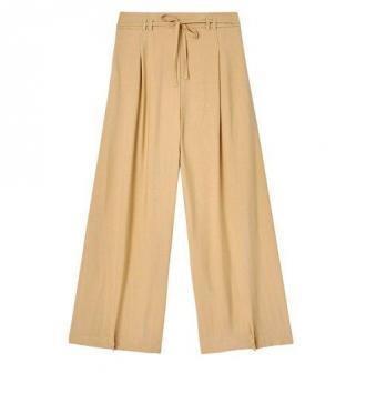 Spodnie w stylu piżamowym