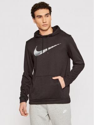 Nike Bluza techniczna Dri-FIT CJ4268 Czarny Standard Fit