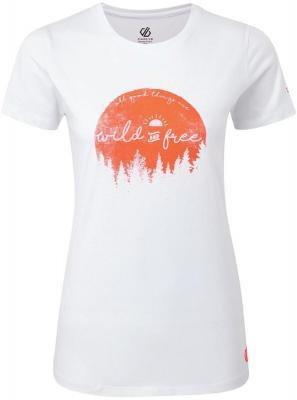 Dare 2b Ease Of Mind Koszulka Kobiety, biały UK 16   EU 42 2021 Odzież do jogi