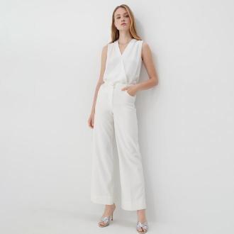 Mohito - Kopertowa bluzka - Biały