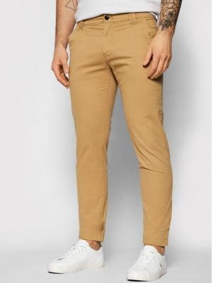 Tommy Jeans Chinosy Scanton DM0DM09595 Brązowy Slim Fit