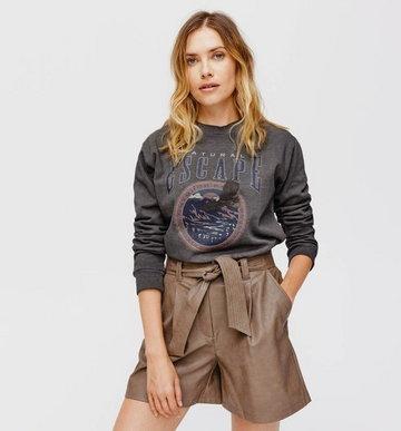 Oversizowy sweter