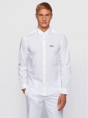 Boss Koszula Biado_R 50443686 Biały Regular Fit