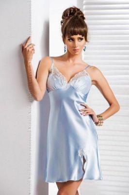 Irall Daphne Błękitna damska koszula nocna