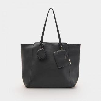 Sinsay - Torba shopper - Czarny