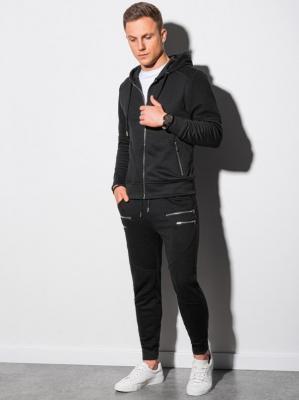 Komplet męski bluza + spodnie Z23 - czarny - XL