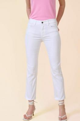 Spodnie straight powerstretch