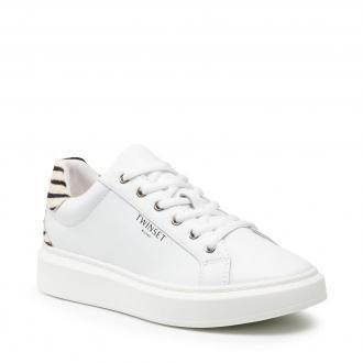 Sneakersy TWINSET - 212TCP112  Bianco Ottico 00001