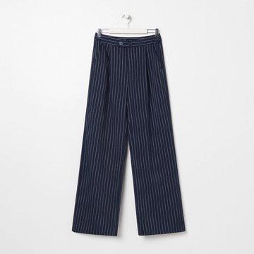 Sinsay - Spodnie kuloty - Granatowy