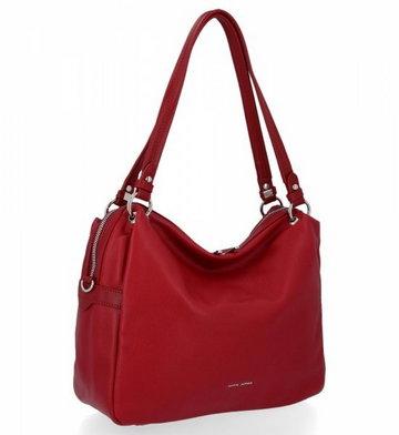 Uniwersalne torebki damskie na co dzień firmy David Jones Bordowa (kolory)