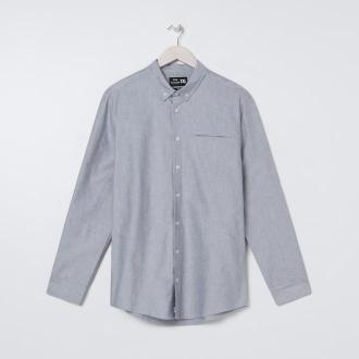 Sinsay - Koszula slim fit - Jasny szary