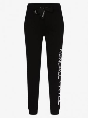 KENDALL + KYLIE - Damskie spodnie dresowe, czarny