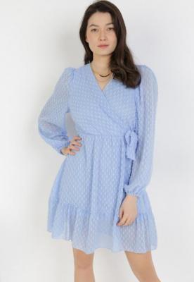 Niebieska Sukienka Amalitea
