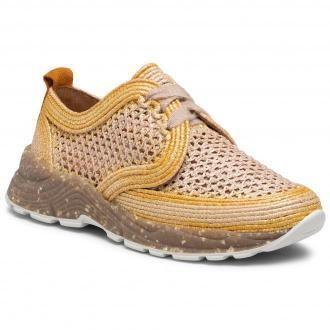 Sneakersy MACIEJKA - 04887-07/00-5 Słomkowy Na Żółto