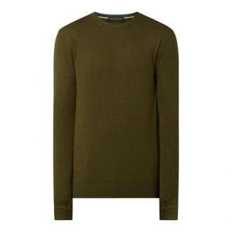 Sweter z dekoltem okrągłym