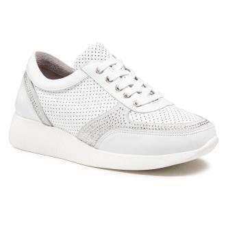 Sneakersy BADURA - 6583-69 Biały 1105