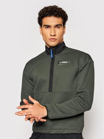 Bluza Terrex Hike GQ3683 Zielony Regular Fit