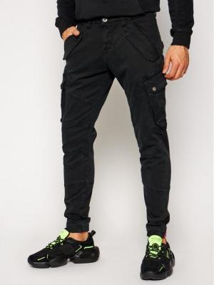 Alpha Industries Spodnie materiałowe Combat 126215 Czarny Slim Fit