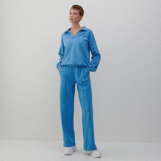 Reserved - Szerokie spodnie w sportowym stylu - Niebieski