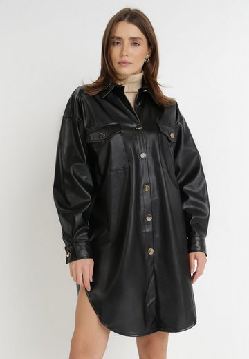 Czarna Koszula Ampano