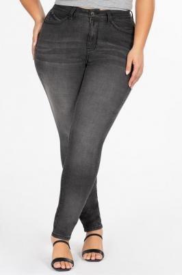 ABIGAIL GRAY obcisłe modelujące jeansy plus size : size - 48/50
