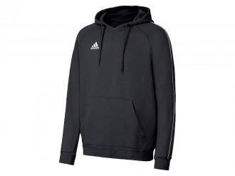 adidas Bluza męska z kapturem, 1 sztuka (XXL, Czarny)