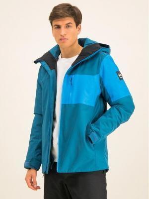 Quiksilver Kurtka narciarska Mission Plus EQYTJ03215 Niebieski Slim Fit