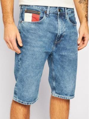 Tommy Jeans Szorty jeansowe Rey DM0DM08049 Niebieski Regular Fit