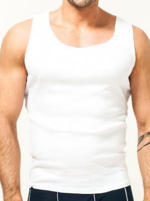 Podkoszulka bawełniania biała męska  XXL