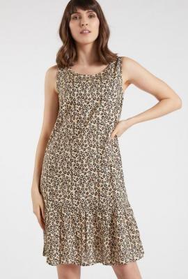 Sukienka ze zwierzęcym wzorem