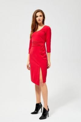 Sukienka z marszczeniami