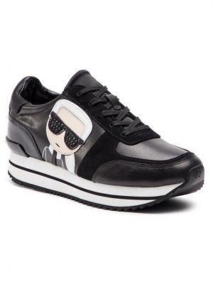 KARL LAGERFELD Sneakersy KL61930 Czarny