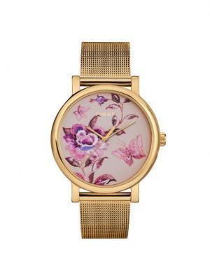 Timex Zegarek Full Bloom TW2U19400 Złoty
