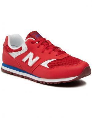 New Balance Sneakersy YC393BBP Czerwony