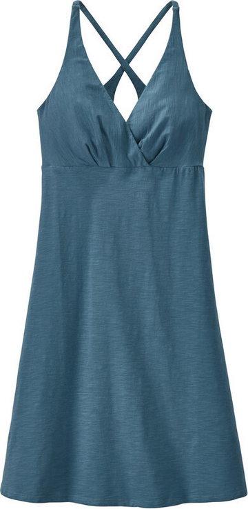 Patagonia Amber Dawn Sukienka Kobiety, niebieski XL 2021 Sukienki