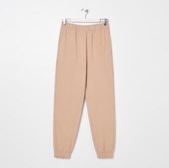 Sinsay - Spodnie dresowe - Beżowy