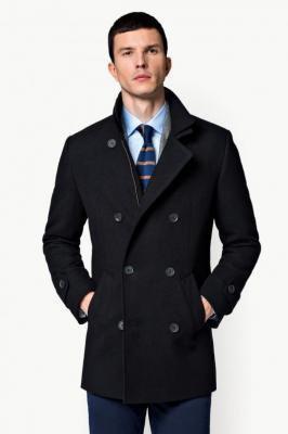 Płaszcz Czarny Embrace