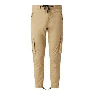 Spodnie cargo o kroju skinny fit z dodatkiem streczu